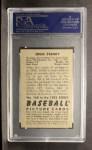1952 Bowman #160  Eddie Stanky  Back Thumbnail