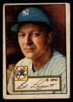 1952 Topps #57  Eddie Lopat  Front Thumbnail
