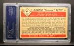 1953 Bowman #33  Pee Wee Reese  Back Thumbnail