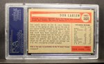 1954 Bowman #101  Don Larsen  Back Thumbnail
