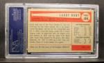 1954 Bowman #84  Larry Doby  Back Thumbnail