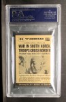 1954 Topps Scoop #23   War In Korea  Back Thumbnail