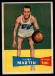 1957 Topps #12  Slater Martin  Front Thumbnail