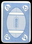 1971 Topps Game #33  Dan Abramowicz  Back Thumbnail