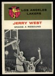 1961 Fleer #66  Jerry West  Front Thumbnail