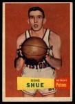 1957 Topps #26  Gene Shue  Front Thumbnail