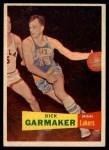 1957 Topps #23  Dick Garmaker  Front Thumbnail