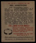 1948 Bowman #52  Neil Armstrong  Back Thumbnail
