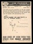 1959 Topps #132  Jim Parker  Back Thumbnail