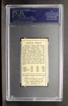 1911 T205 #190  Zach Wheat  Back Thumbnail
