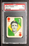 1951 Topps Blue Back #13  Mickey Vernon  Front Thumbnail