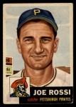 1953 Topps #74  Joe Rossi  Front Thumbnail