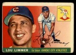 1955 Topps #54  Lou Limmer  Front Thumbnail
