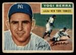 1956 Topps #110  Yogi Berra  Front Thumbnail