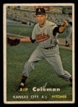 1957 Topps #354  Rip Coleman  Front Thumbnail