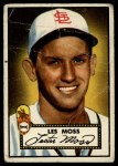1952 Topps #143 CRM Les Moss  Front Thumbnail