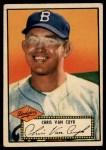 1952 Topps #53  Chris Van Cuyk  Front Thumbnail
