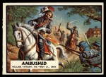 1962 Topps Civil War News #63   Ambushed Front Thumbnail