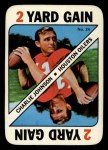 1971 Topps Game #24  Charlie Johnson  Front Thumbnail