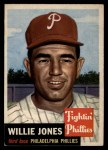 1953 Topps #88  Willie Jones  Front Thumbnail