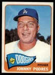 1965 Topps #387  Johnny Podres  Front Thumbnail