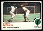 1973 Topps #145  Bobby Bonds  Front Thumbnail