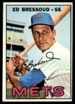1967 Topps #121  Eddie Bressoud  Front Thumbnail