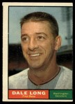 1961 Topps #117  Dale Long  Front Thumbnail