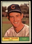 1961 Topps #253  Sammy Taylor  Front Thumbnail