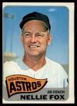 1965 Topps #485  Nellie Fox  Front Thumbnail