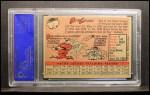 1958 Topps #2 YT Bob Lemon  Back Thumbnail