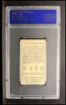 1911 T205 #33  Ty Cobb  Back Thumbnail