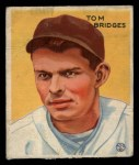 1933 Goudey #199  Tommy Bridges  Front Thumbnail