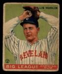 1933 Goudey #96  Willis Hudlin  Front Thumbnail
