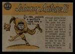 1960 Topps #572   -  Johnny Antonelli All-Star Back Thumbnail