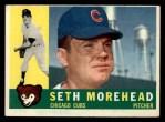 1960 Topps #504  Seth Morehead  Front Thumbnail