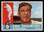 1960 Topps #60  Gus Triandos  Front Thumbnail