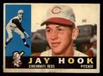 1960 Topps #187  Jay Hook  Front Thumbnail