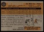1960 Topps #131   -  Ed Hobaugh Rookie Star Back Thumbnail