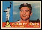 1960 Topps #517  Charlie James  Front Thumbnail