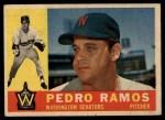 1960 Topps #175  Pedro Ramos  Front Thumbnail