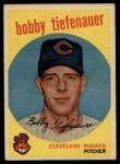 1959 Topps #501  Bob Tiefenauer  Front Thumbnail