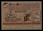 1958 Topps #446  Carroll Hardy  Back Thumbnail