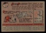 1958 Topps #101 ^WN^ Bobby Richardson  Back Thumbnail