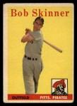 1958 Topps #94  Bob Skinner  Front Thumbnail