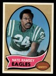 1970 Topps #239  Nate Ramsey  Front Thumbnail