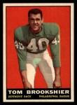 1961 Topps #102  Tom Brookshier  Front Thumbnail