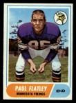 1968 Topps #81  Paul Flatley  Front Thumbnail