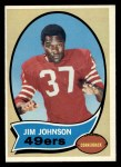 1970 Topps #245  Jim Johnson  Front Thumbnail