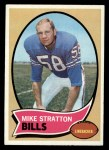 1970 Topps #252  Mike Stratton  Front Thumbnail